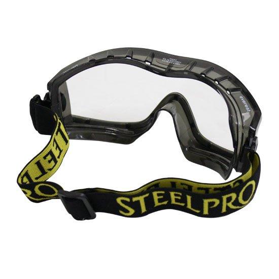 0336117bc0d91 Óculos de Segurança Everest com Ampla Visão - Incolor - STEEL PRO ...