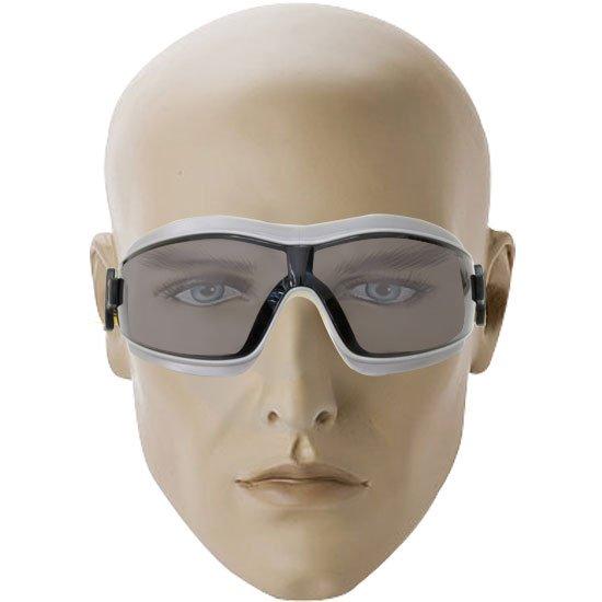 Óculos de Segurança K2 Ampla Visão com Lente Cinza - Imagem zoom
