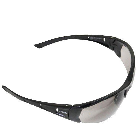Óculos de Segurança - Militar Cross com Lente Cinza - STEEL PRO ... 75b7e554b5