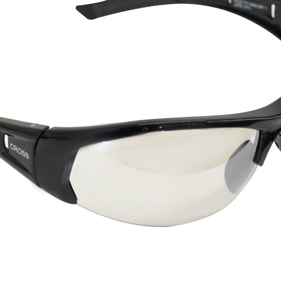Óculos de Segurança Militar Cross - Lente Incolor Out - STEEL PRO ... cef6398b7e
