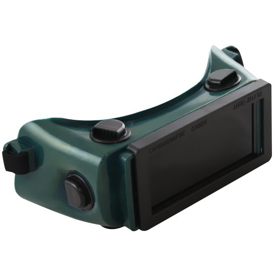 Óculos de Solda com Visor Fixo Quadrado - Imagem zoom