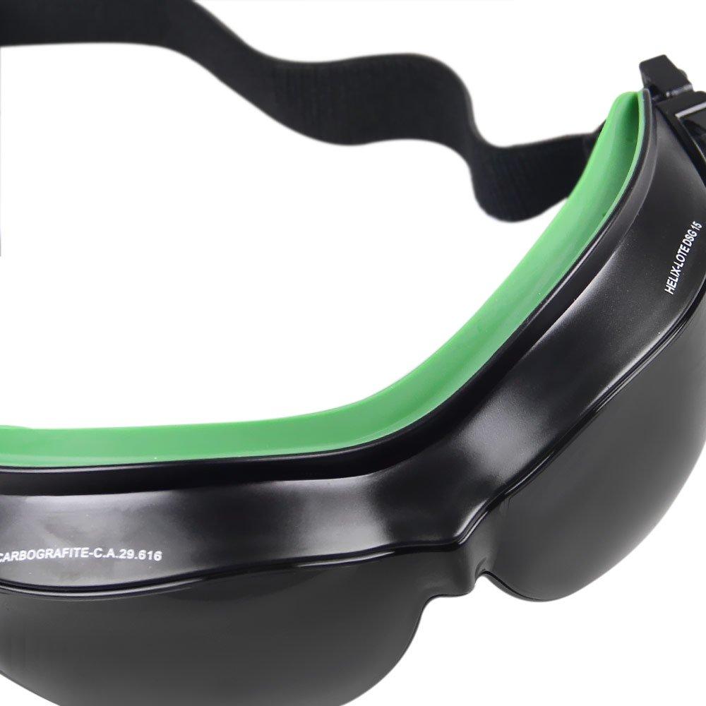 Óculos de Proteção Ampla Visão Helíx - Cinza - CARBOGRAFITE ... afbec47444