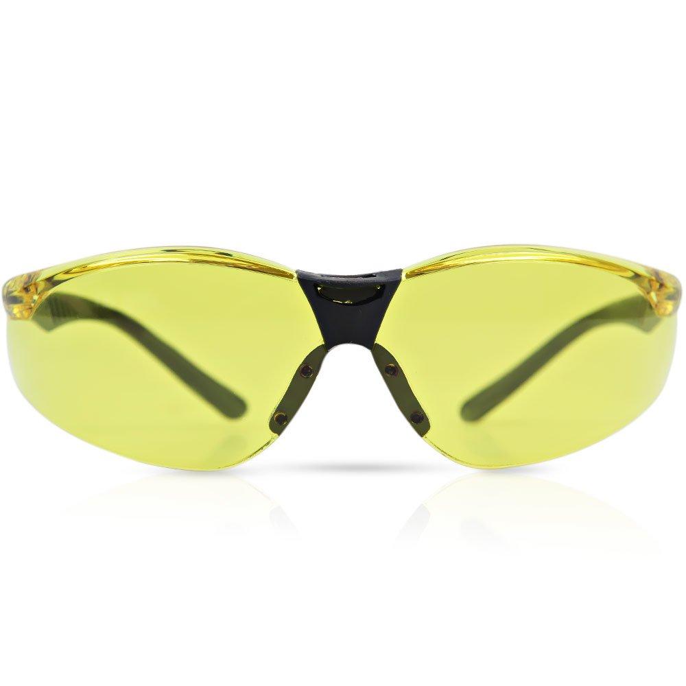 Óculos de Segurança Cayman com Lente Âmbar Anti Embaçante - Imagem zoom