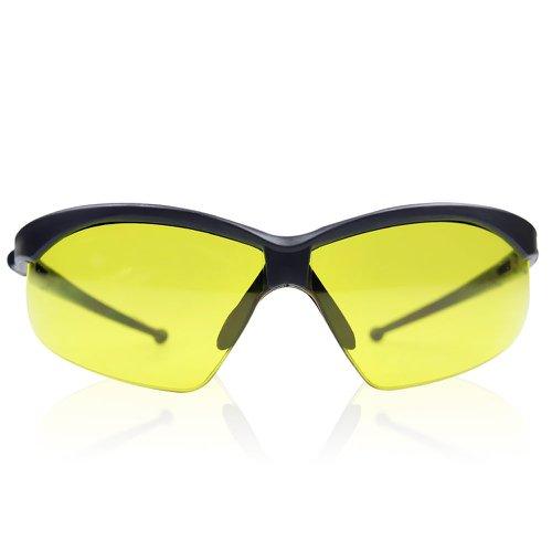 28fccd6363879 Oculos de Seguranca com Lentes Anti-embacante Evolution Ambar ...