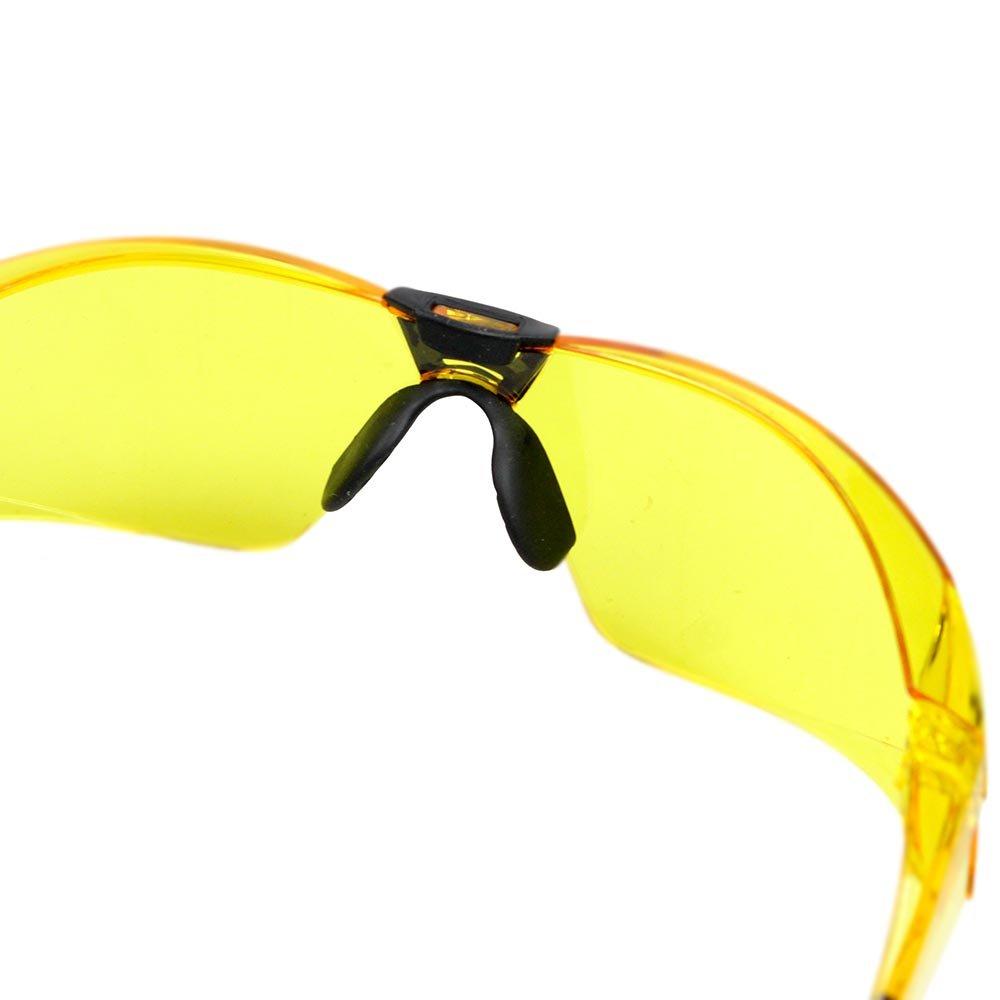 Óculos de Segurança Cayman Sport com Lente Âmbar Anti Embaçante - Imagem  zoom 3a2a21f64d
