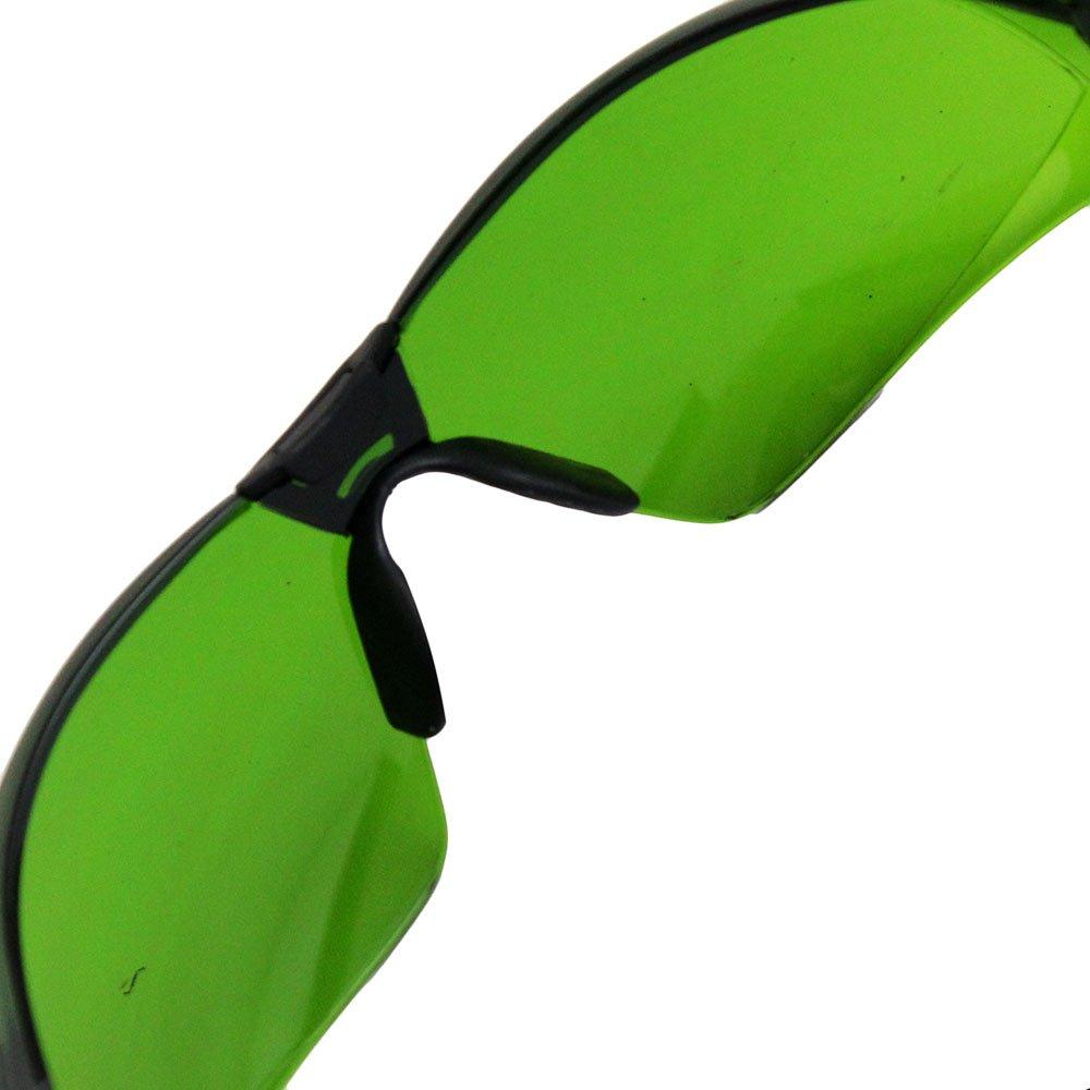 Óculos de Segurança Cayman Sport com Lente Verde Anti Embaçante - Imagem zoom