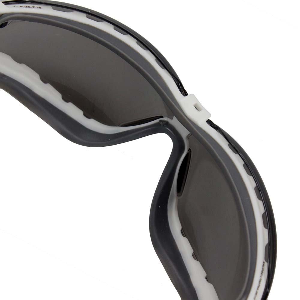 cca139d0ec0fc Óculos de Segurança Ampla Visão com Antiembaçante Cinza - Aruba - Imagem  zoom