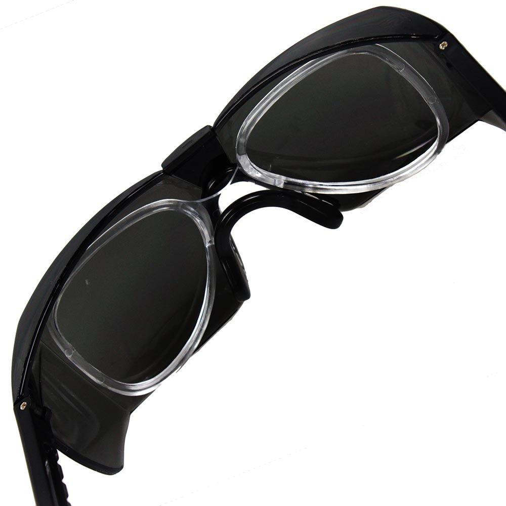 b4082f7b0fa03 Óculos de Segurança Cinza com Armação - Castor II - KALIPSO-01.08 ...