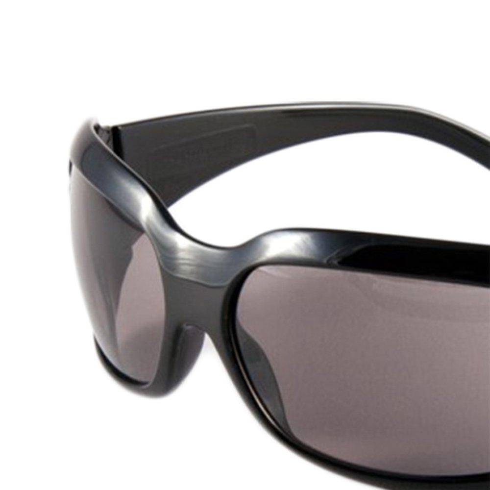 Óculos de Segurança Cinza com Armação Preta - Ibiza - Imagem zoom
