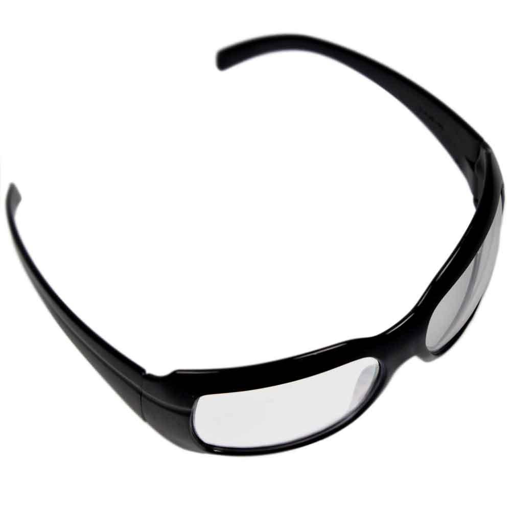 a7f62afc42896 Óculos de Segurança Incolor com Armação Preta - Ibiza - KALIPSO ...