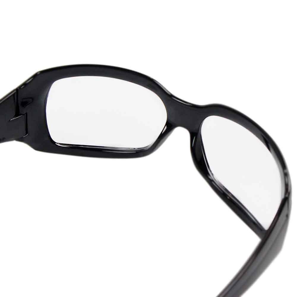 Óculos de Segurança Incolor com Armação Preta - Ibiza - Imagem zoom