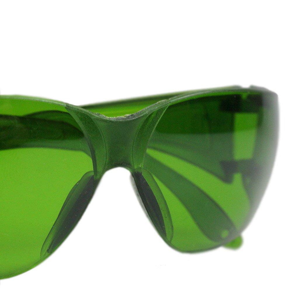 Óculos de Proteção Verde Leopardo - Imagem zoom