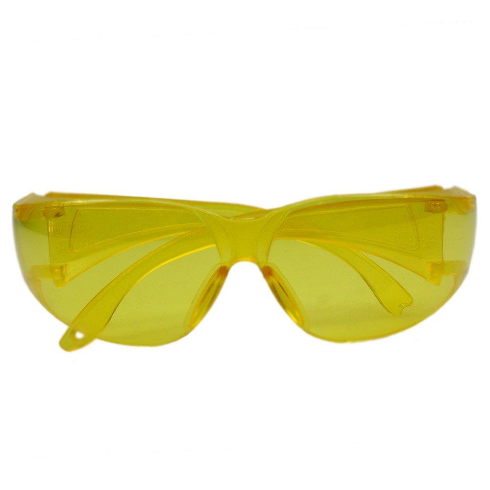Óculos de Proteção Amarelo Leopardo - Imagem zoom