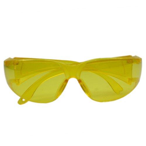 óculos de proteção amarelo leopardo