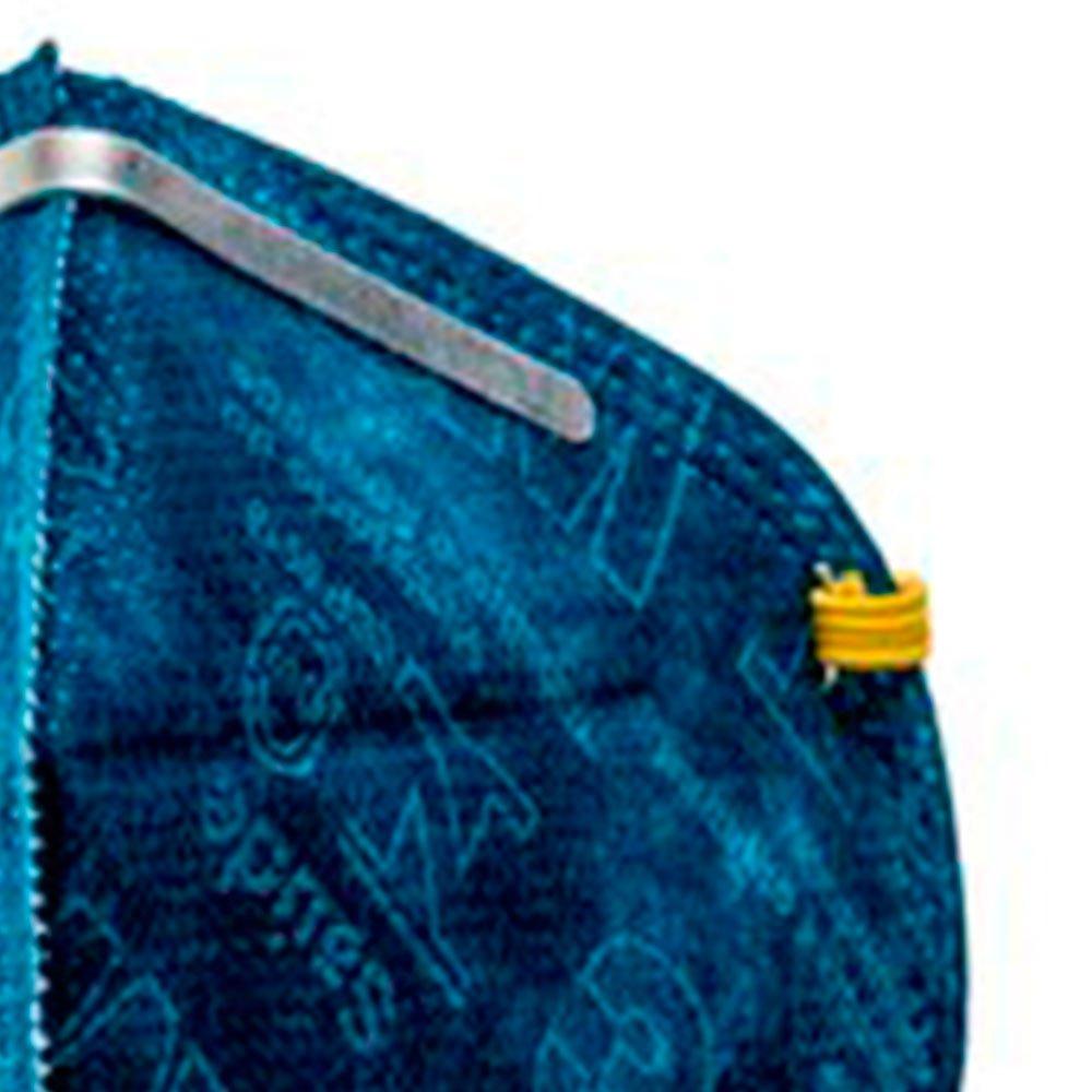Respirador PFF-1 Dobrável Descartável para Poeiras e Névoas - Imagem zoom
