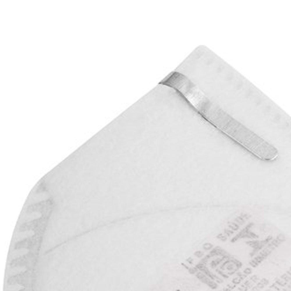 Respirador PFF1 Dobrável Semi-Facial sem Carvão Ativado com Válvula  - Imagem zoom