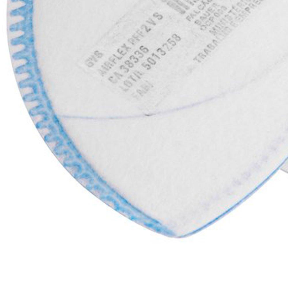 Respirador PFF2 Dobrável Semi-Facial sem Carvão Ativado com Válvula  - Imagem zoom
