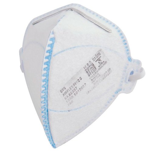 respirador pff2 dobrável semi-facial sem carvão ativado sem válvula