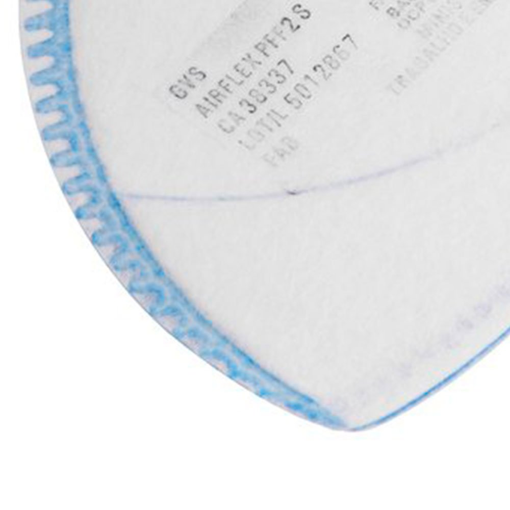 Respirador PFF2 Dobrável Semi-Facial sem Carvão Ativado sem Válvula  - Imagem zoom