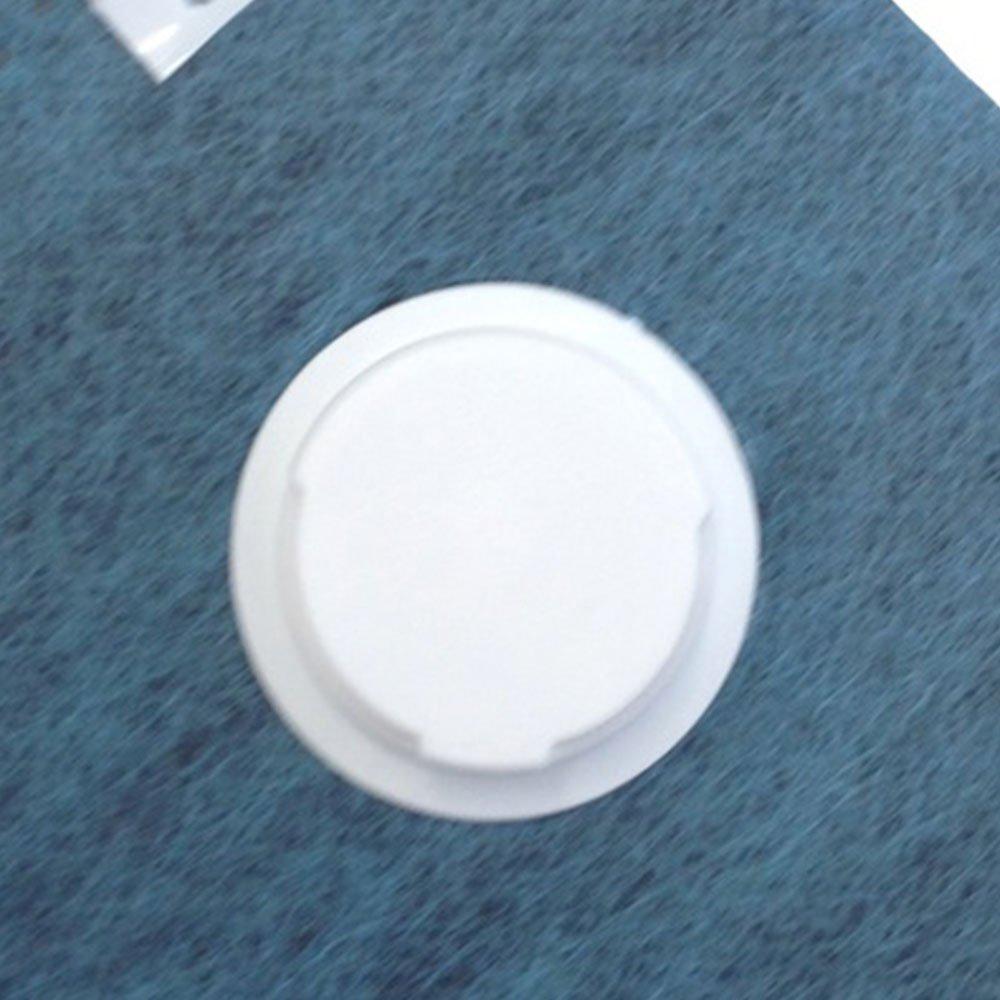 Respirador Descartável Dobrável com Válvula PFF2 CG231V - Imagem zoom