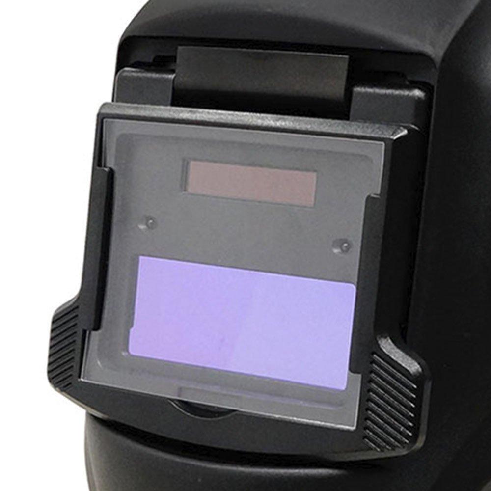 Máscara de Autoescurecimento para Soldagem Fixa Tonalidade 11 Automática Bateria Lítio  - Imagem zoom
