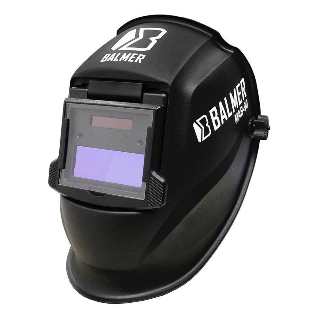 Kit Máscara de Autoescurecimento para Soldagem Balmer MAB90 Fixa Tonalidade 11 Automática + 1Kg de Eletrodo Titanium 6013 2,5mm - Imagem zoom