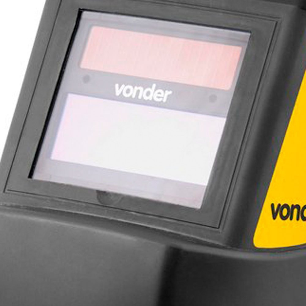 Kit Máscara de Solda Escurecimento Automático Vonder MSV012 + Eletrodo 6013 Titanium 4870 - Imagem zoom