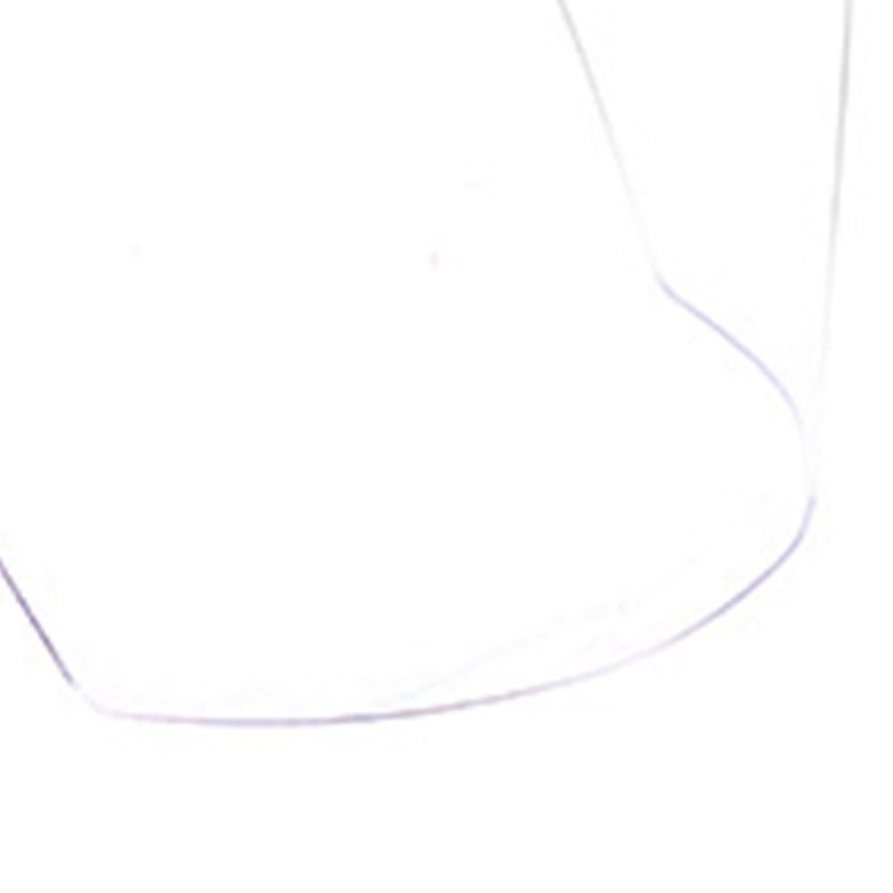 Protetor Facial Transparente Carneira Simples com Visor 200mm - Imagem zoom