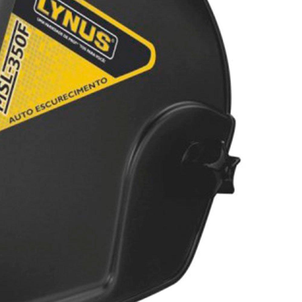 Kit Máscara de Solda LYNUS-MSL-350F + Eletrodo para Solda 6013 1 Kg TITANIUM-03360 - Imagem zoom
