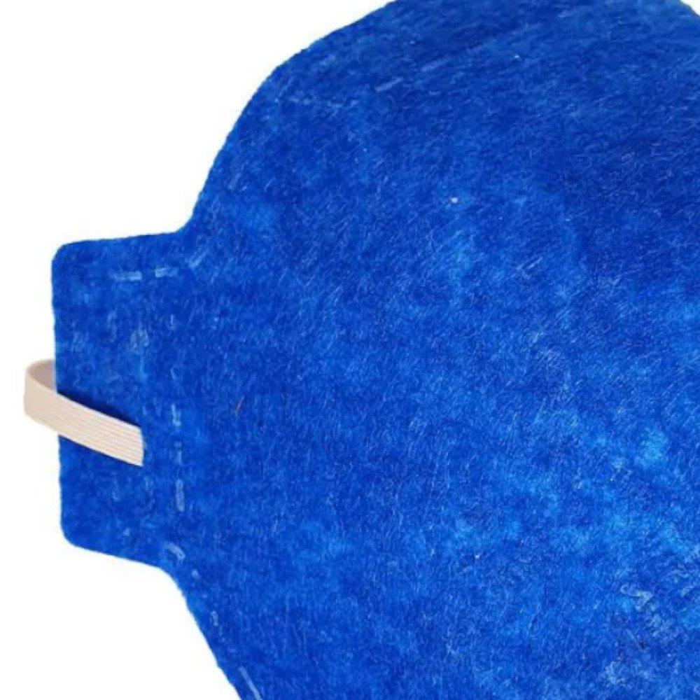 Máscara Respiratória Semifacial N95 Antiviral PFF2-S sem Válvula - Imagem zoom