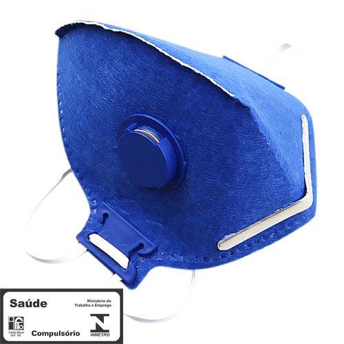máscara respiradora semifacial pff2 valvulada