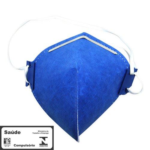 máscara respiradora semifacial pff2 sem válvula