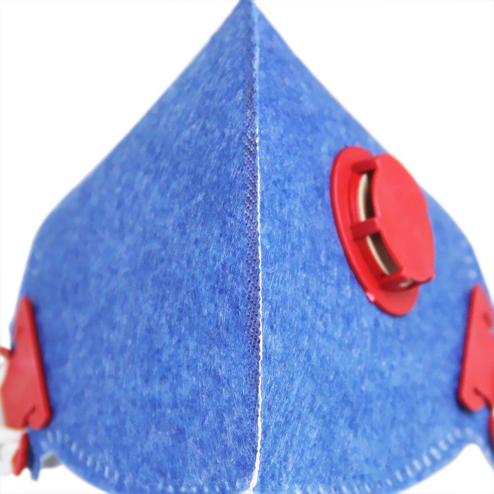 Máscara Respirador Semifacial PFF1 Válvulada - Imagem zoom