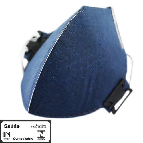 máscara respiradora semifacial pff2 carvão sem válvula