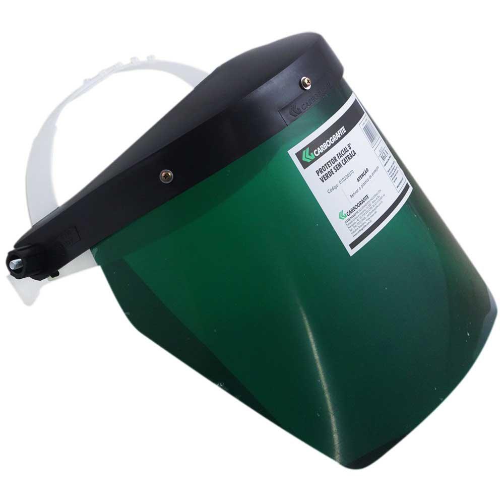 Protetor Facial 8 Pol. Verde sem Catraca - CARBOGRAFITE-010230510 ... 884bea9d37