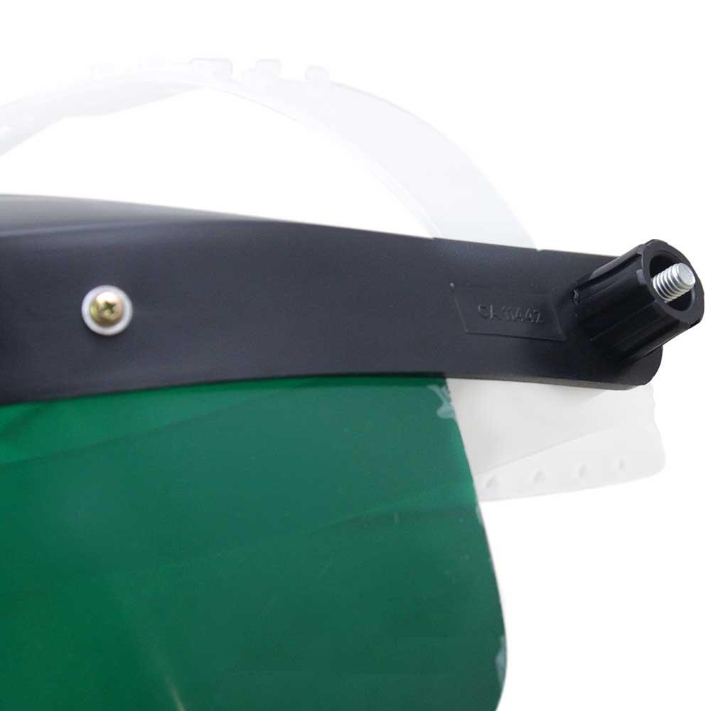 Protetor Facial 8 Pol. Verde sem Catraca - CARBOGRAFITE-010230510 ... 9b436f90cd