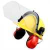 Capacete Evolution Amarelo com Protetor Facial e Abafador CG 108 - Imagem 5