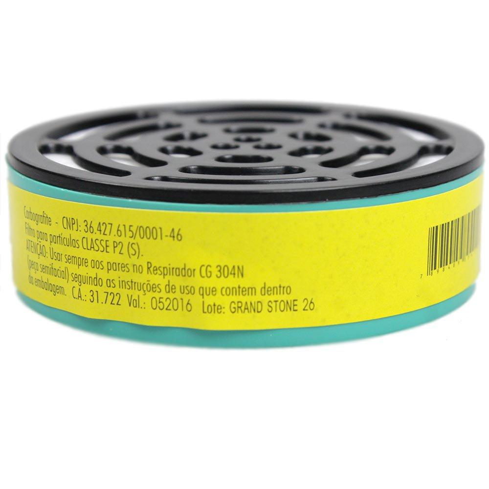 Filtro de Partículas RC1 para Respirador Semifacial - Imagem zoom