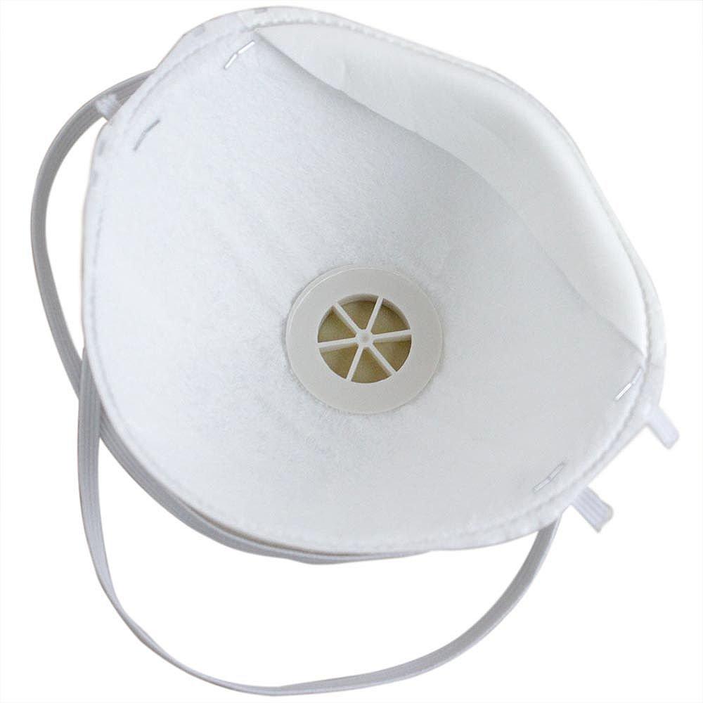 Respirador Concha PFF1 com Válvula e Elástico 122 B - Imagem zoom