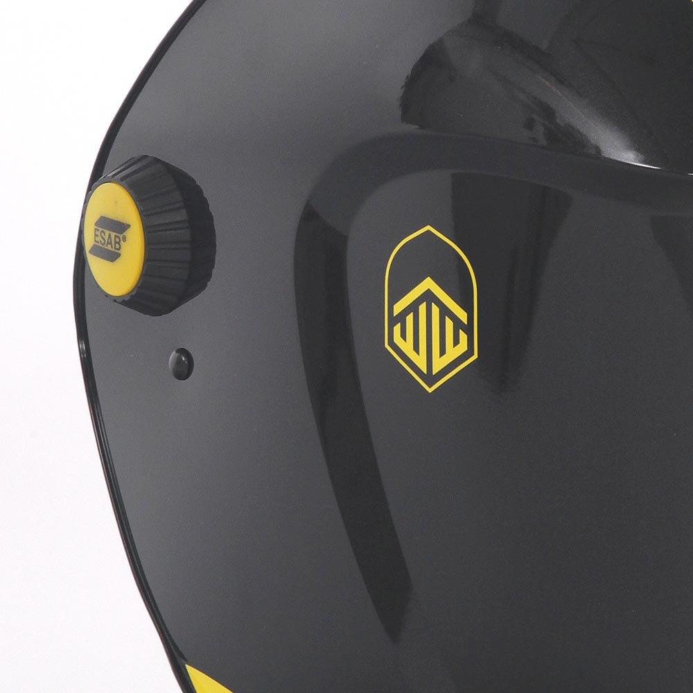 Máscara de Solda Automática Warrior Tech Preta - Imagem zoom