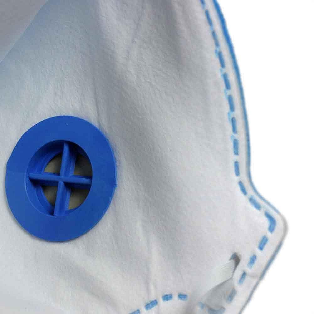 Respirador Semi-Facial PFF1 Dobrável com Válvula - Imagem zoom