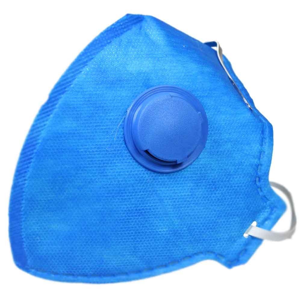 Respirador Semi-Facial PFF1 Dobrável com Válvula com 20 Unidades - Imagem zoom