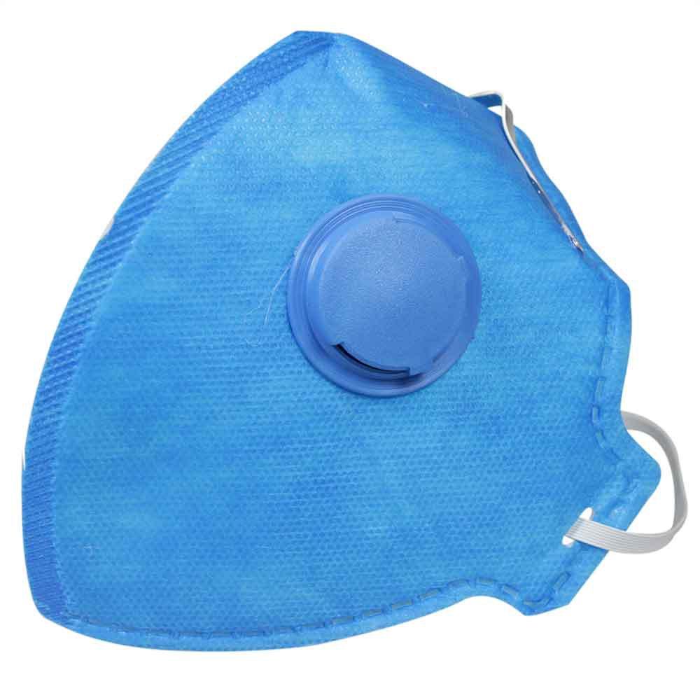Respirador Semi-Facial PFF2 Dobrável com Válvula com 20 Unidades - Imagem zoom