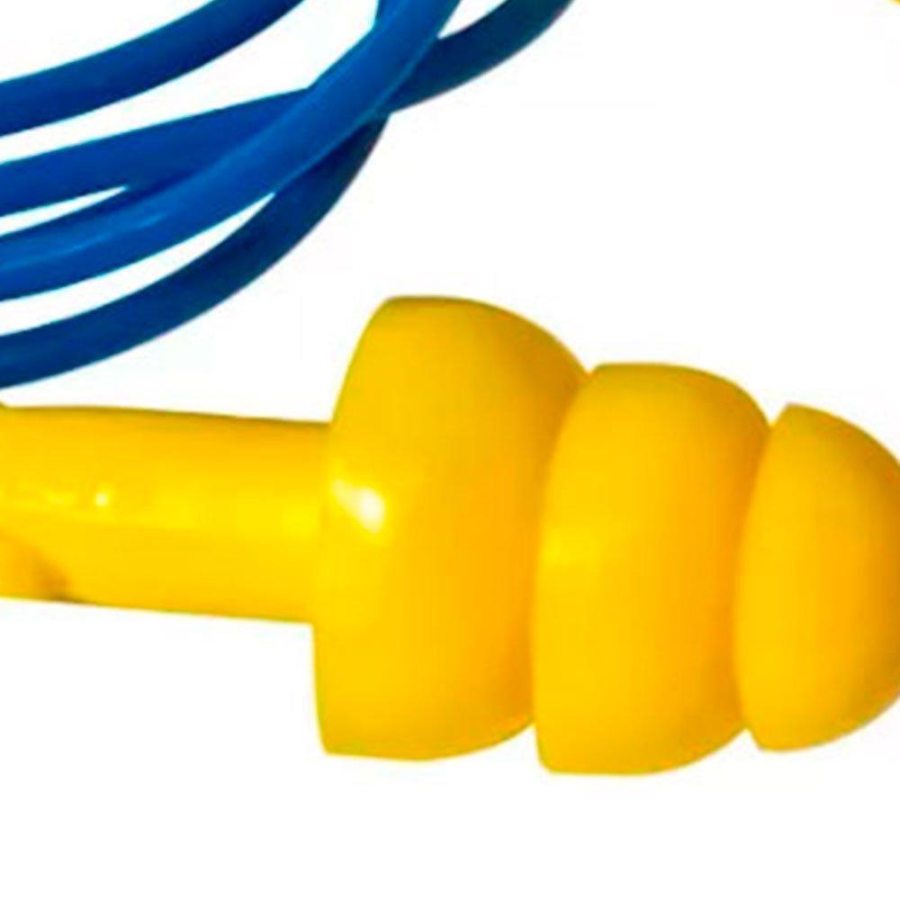 Protetor Auricular Tipo Plug em Copolímero com Cordão em PVC - Imagem zoom
