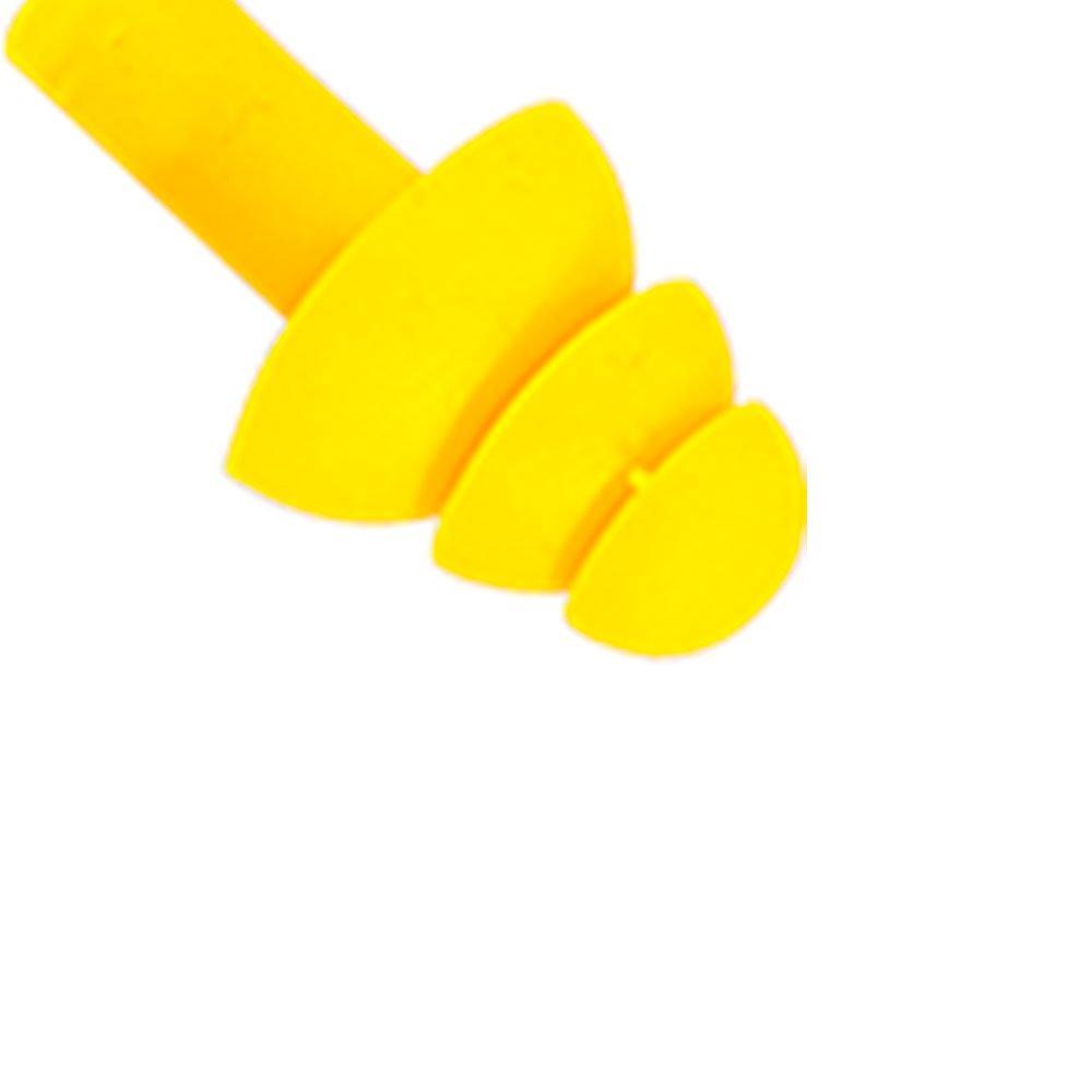 Protetor Auricular em Copolímero Tipo Plug com Cordão em PVC - Imagem zoom