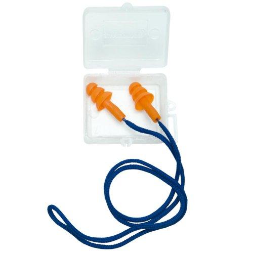 protetor auricular cg 38s com cordão e caixa protetora