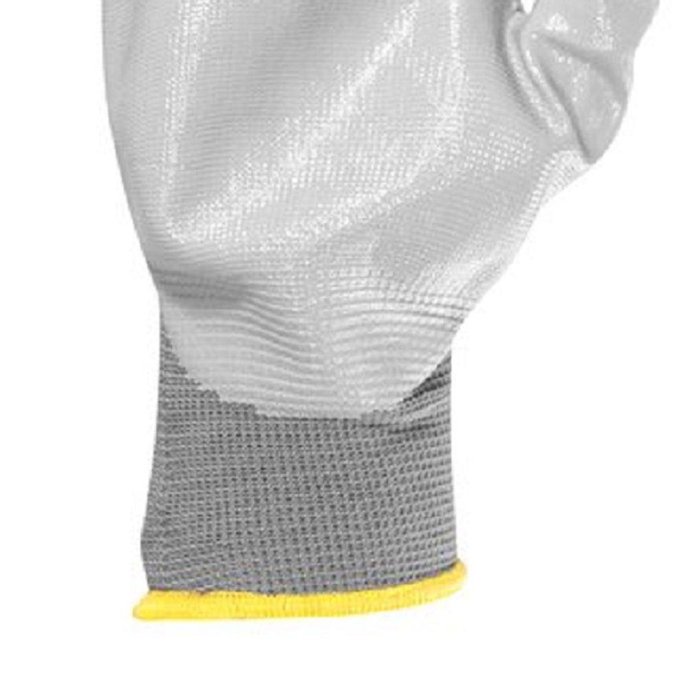 Luva de Poliéster Nitrílica Tamanho 10 - Imagem zoom