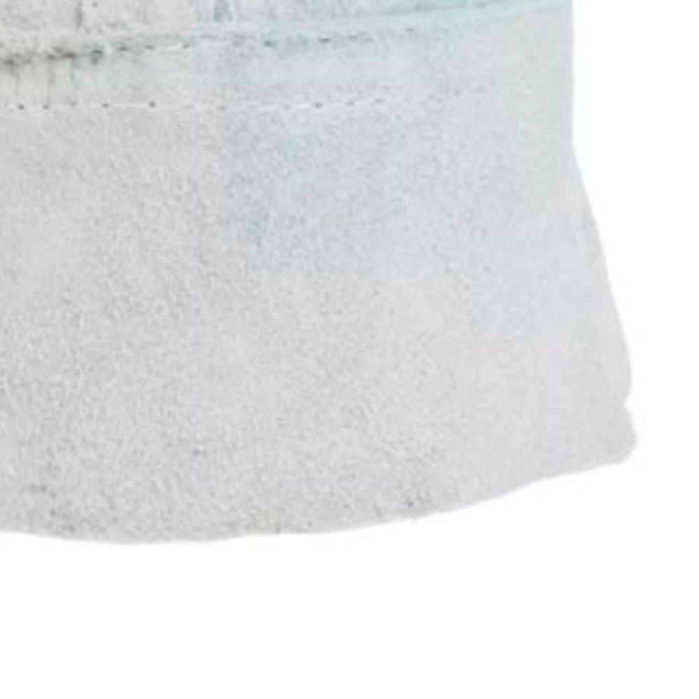 Luva de Raspa de Couro com Cano Curto 7cm - Imagem zoom