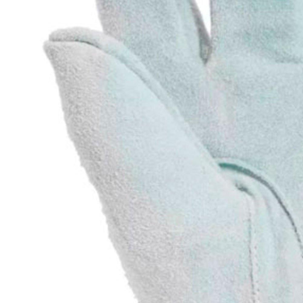 Luva de Raspa de Couro com Cano Longo 20cm - Imagem zoom