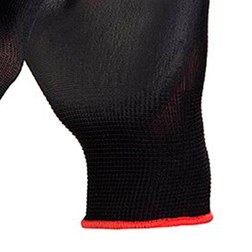 Luva de Segurança Flextáctil Preta em Nylon Tamanho P - Imagem zoom